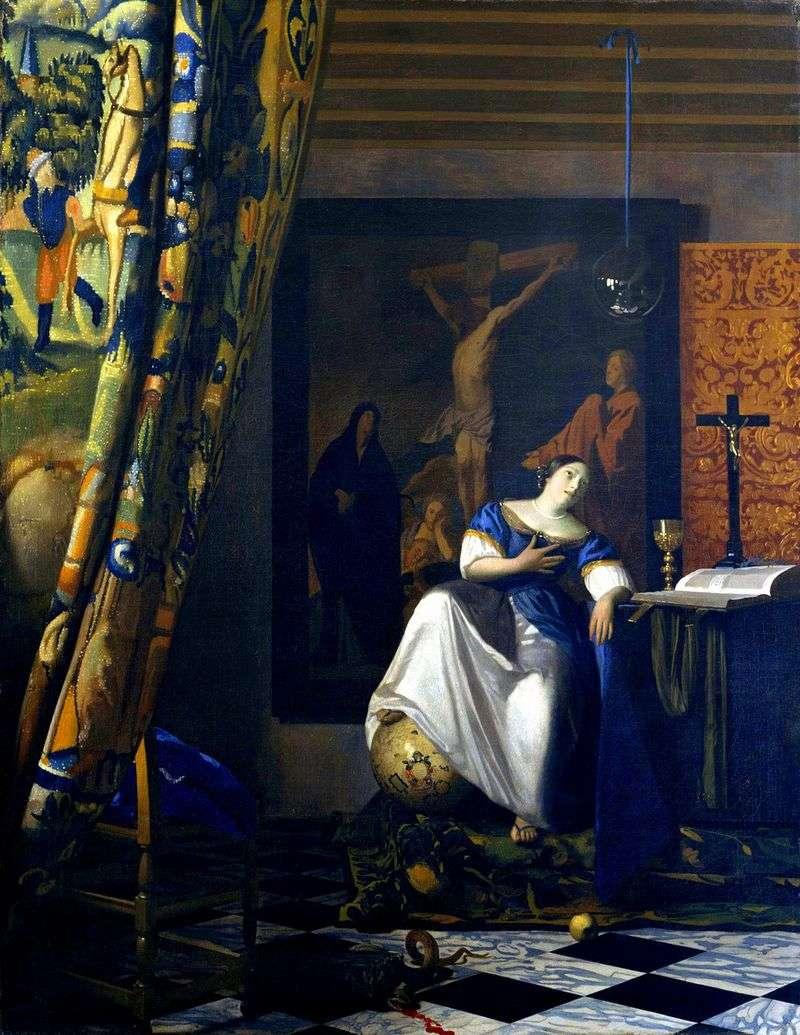Allegory of Faith by Jan Vermeer