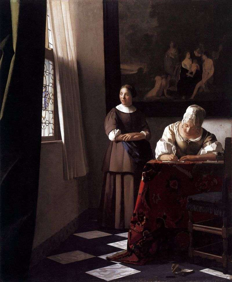 Reply message by Jan Vermeer