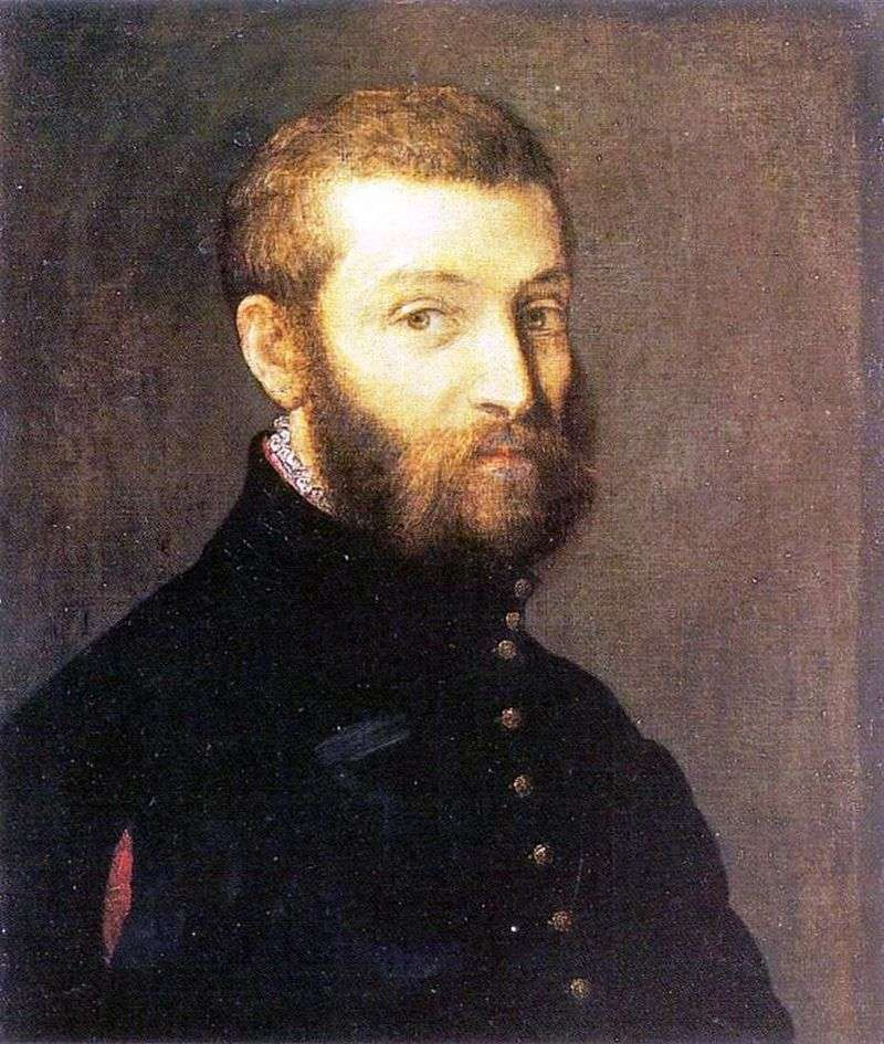 Self portrait by Paolo Veronese