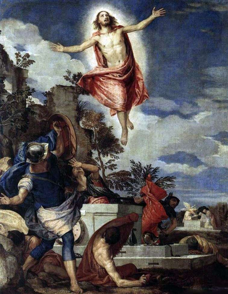 The Resurrection of Christ by Paolo Veronese