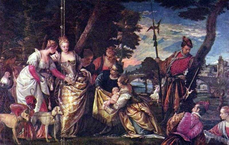 Finding Moses by Paolo Veronese