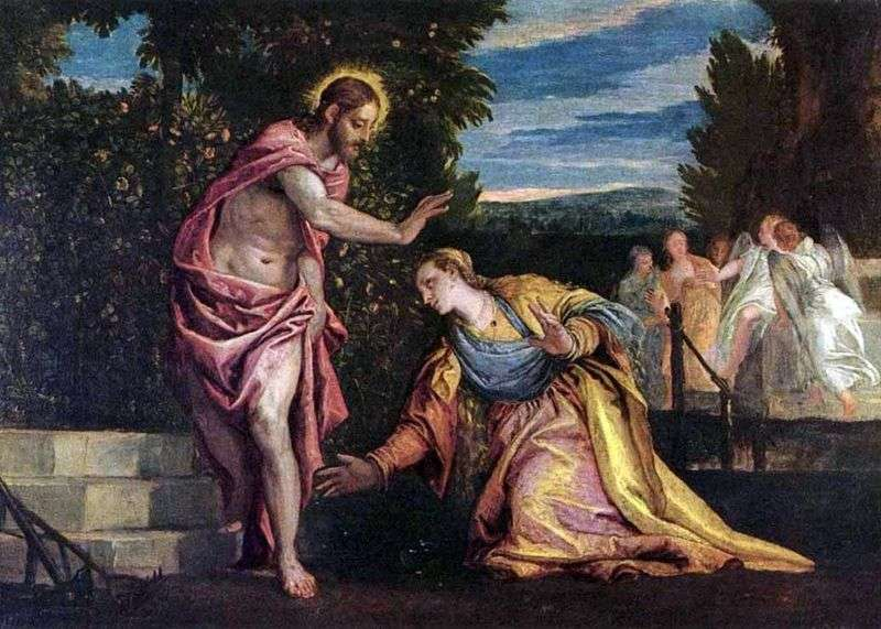 Do not touch! by Paolo Veronese