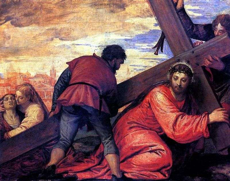 Carrying the Cross by Paolo Veronese