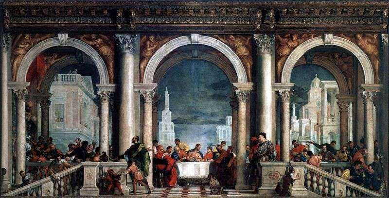 A feast in the house of Levi by Paolo Veronese