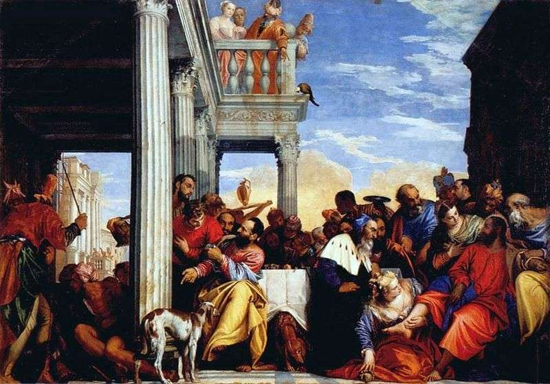 The Feast of Simon the Pharisee by Paolo Veronese
