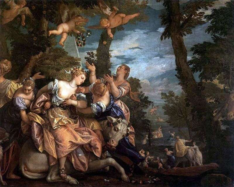 Abduction of Europe by Paolo Veronese
