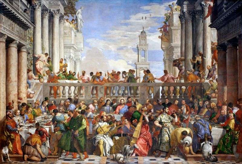 Wedding in Cana by Paolo Veronese