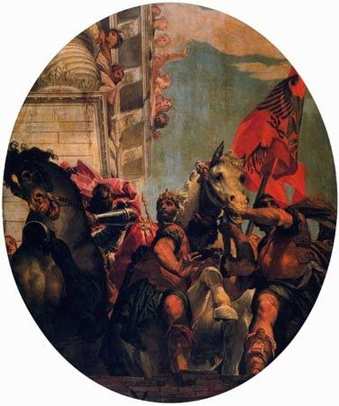 Triumph of Mordecai by Paolo Veronese
