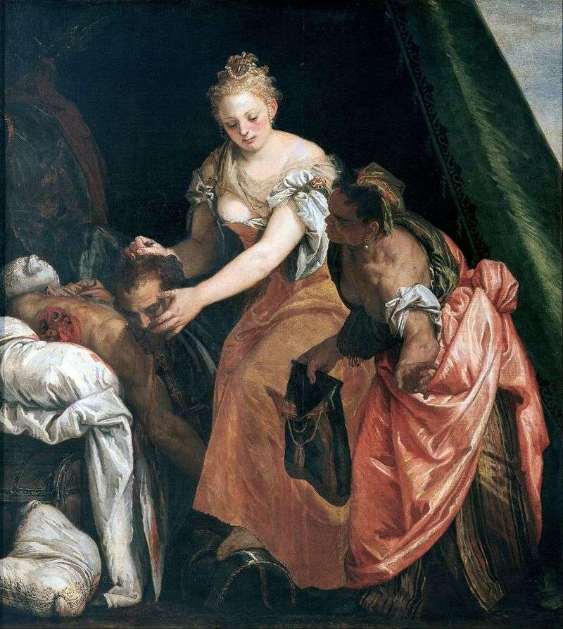 Murder of Holofernes by Paolo Veronese