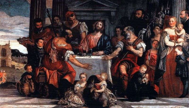 Christ in Emmaus by Paolo Veronese