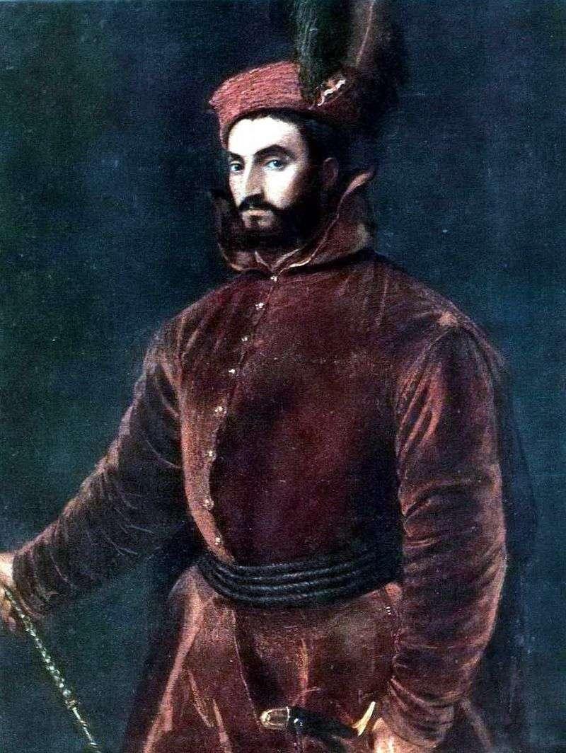 Portrait of Cardinal Ippolito de Medici by Titian Vecellio