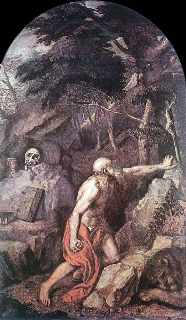 Saint Jerome by Titian Vecellio