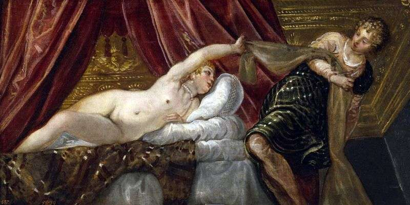 Tintoretto Joseph and the wife of Potiphar