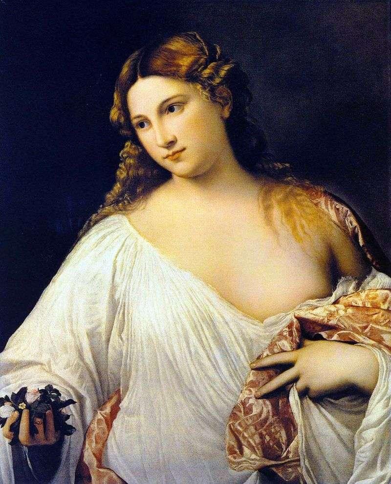 Flora by Titian Vecellio