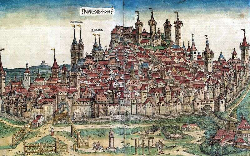 Nuremberg chronicles by Michael Wolgemuth