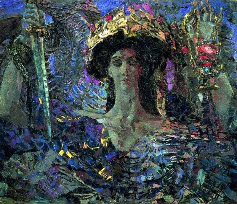 Azrael by Mikhail Vrubel