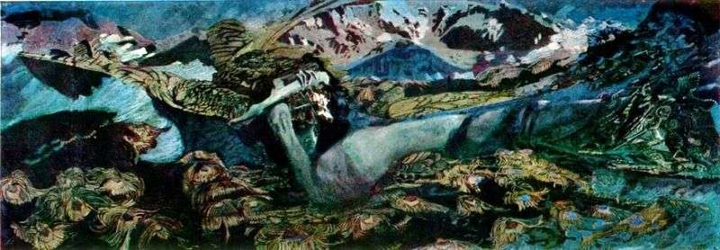 Demon defeated by Mikhail Vrubel