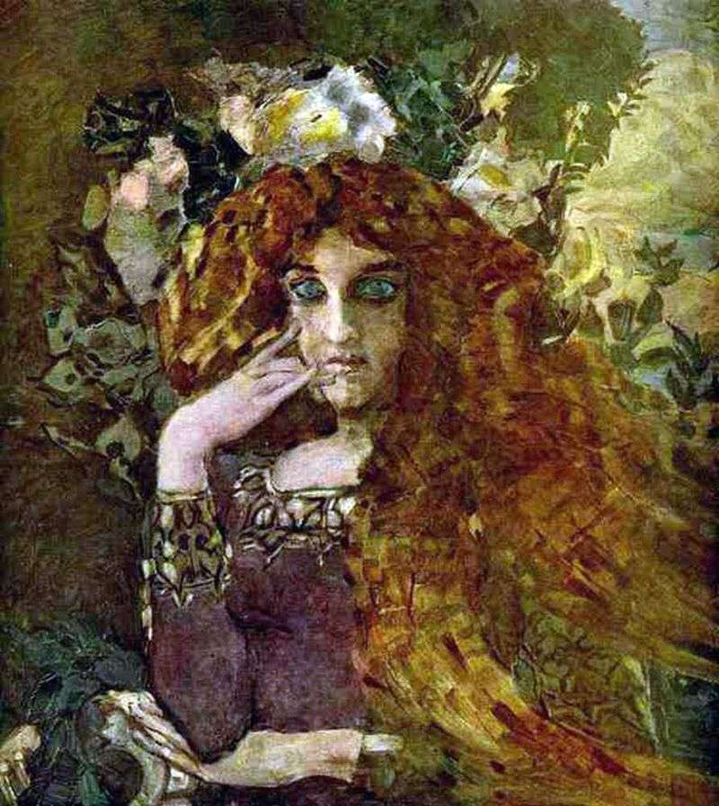Muse by Mikhail Vrubel