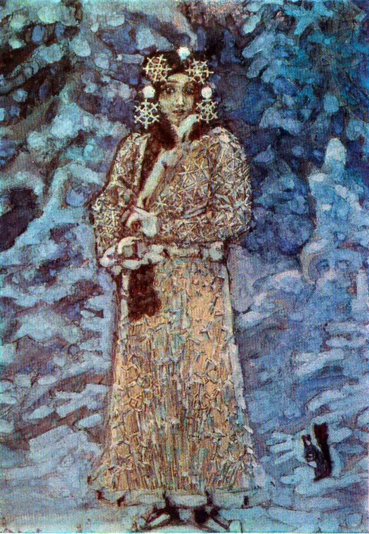 The Snow Maiden by Mikhail Vrubel