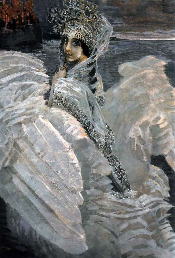 The Princess Swan by Mikhail Vrubel