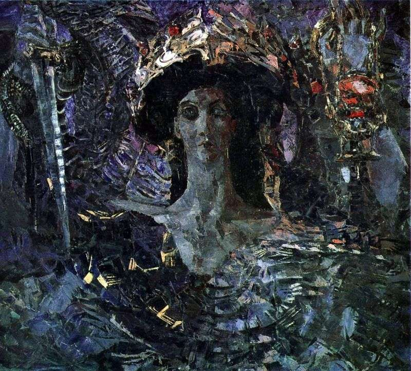 The six winged Seraphim. Azrael by Mikhail Vrubel