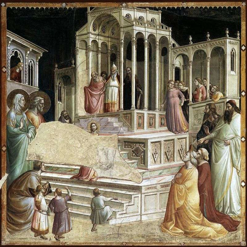 Introduction of Mary in the Temple by Taddeo Gaddi
