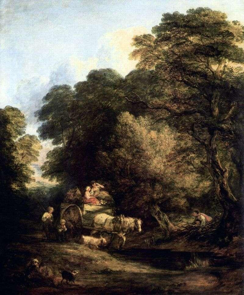 Marketplace by Thomas Gainsborough