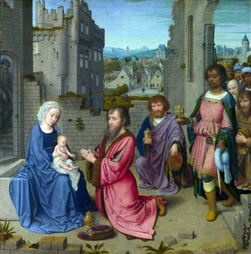 The Adoration of the Magi by David Gerard