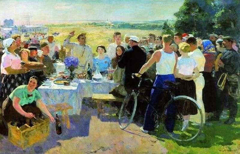 Kolkhoz holiday by Sergey Gerasimov