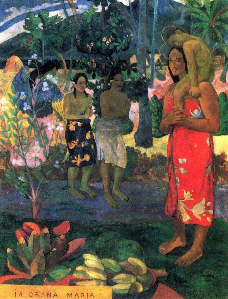 La Orana Maria by Paul Gauguin