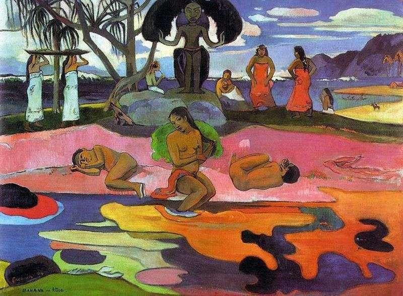 Day without the gods (Day of the deity by Mahana but nato)   Paul Gauguin