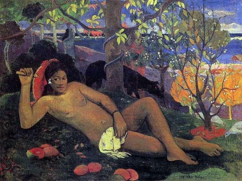 The Kings Wife by Paul Gauguin