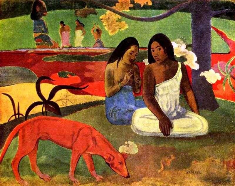 Naughty joke by Paul Gauguin