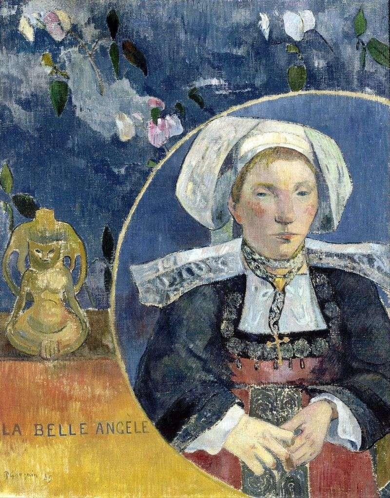 Beautiful Angela by Paul Gauguin
