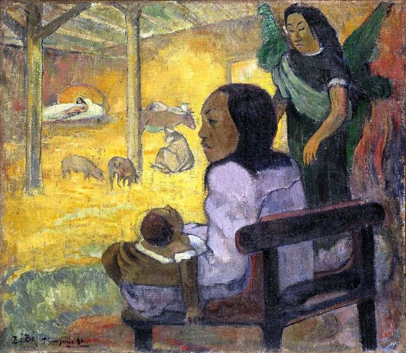 Child (Christmas) by Paul Gauguin