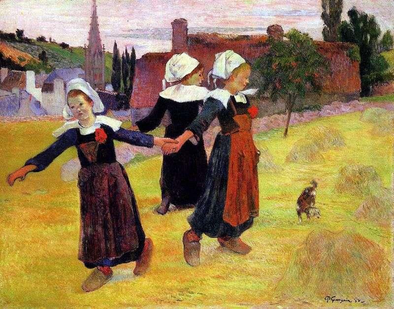 Dancing Girls by Paul Gauguin