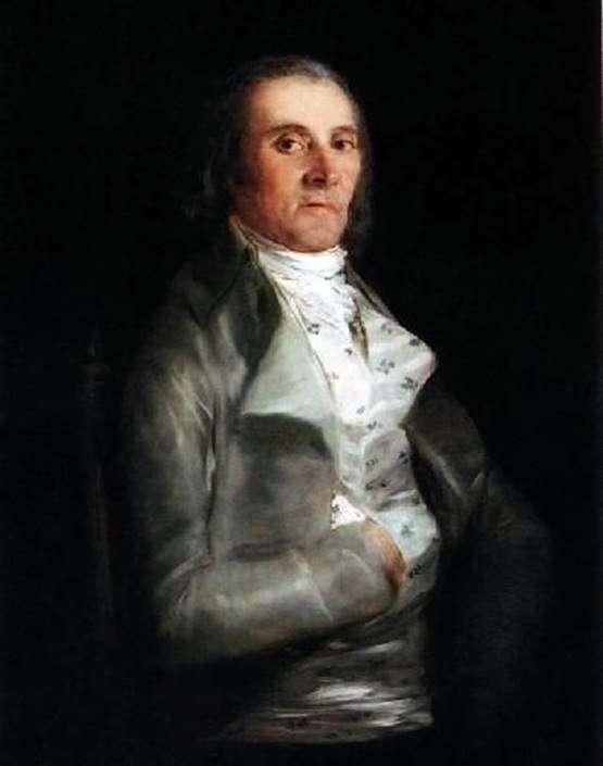 Don Andres del Peral by Francisco de Goya