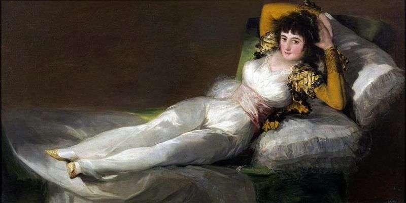 Mach dressed by Francisco de Goya