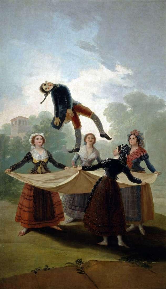 Straw doll by Francisco de Goya