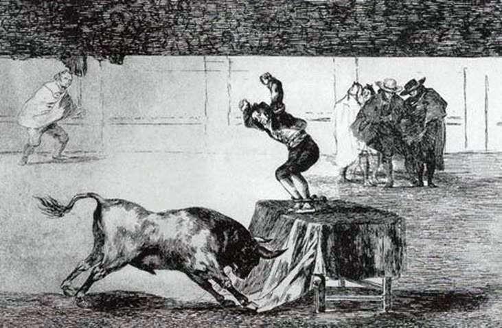 Tavromachia by Francisco de Goya