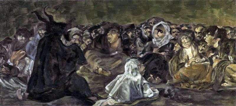 The Sabbat of the Witches by Francisco de Goya