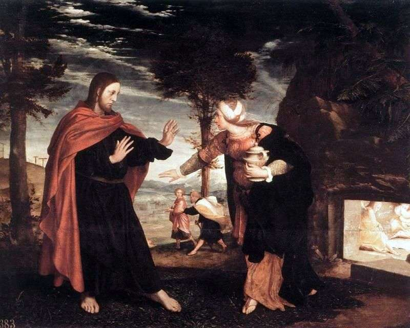 Do not touch me! by Hans Holbein