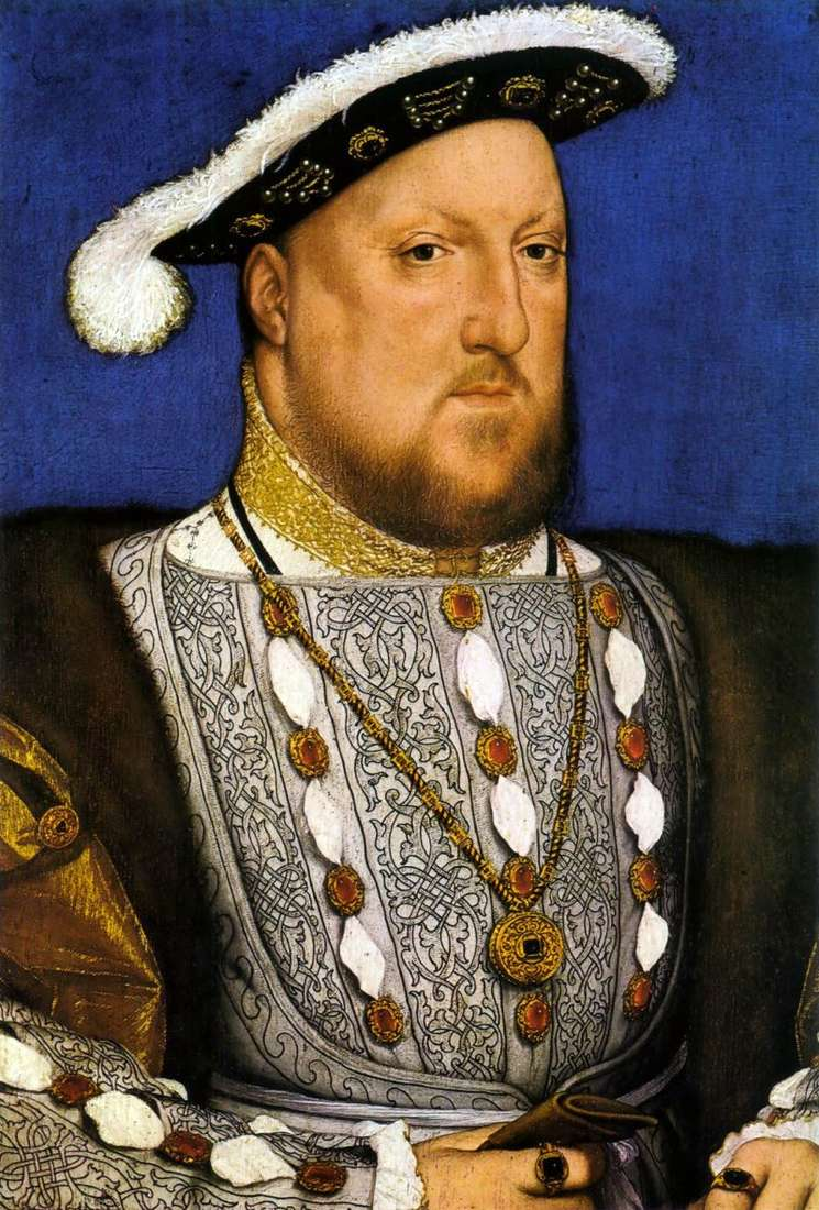 Portrait of Henry VIII by Hans Holbein