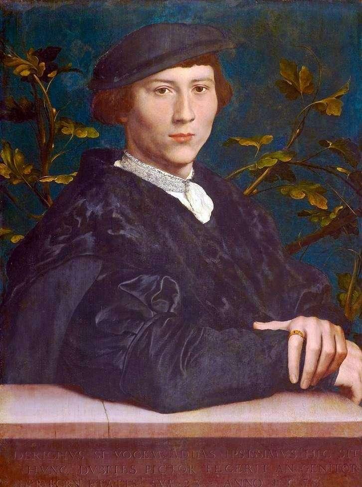 Portrait of Derick Borne by Hans Holbein