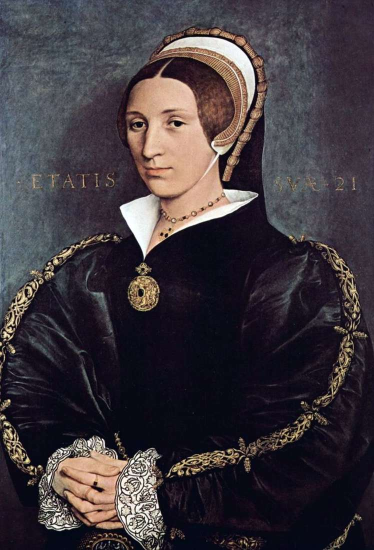 Portrait of Catherine Howard, the fifth wife of King Henry VIII by Hans Holbein