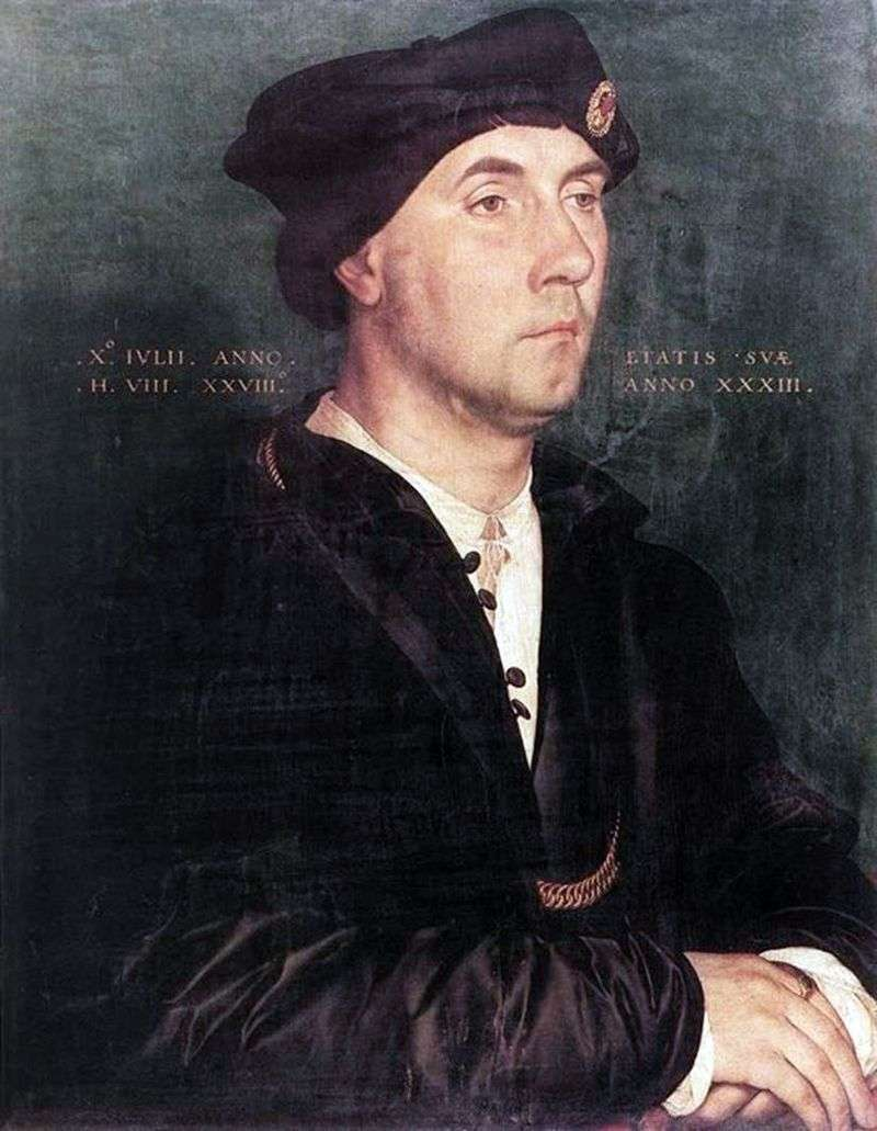 Portrait of Sir Richard Southwell by Hans Holbein