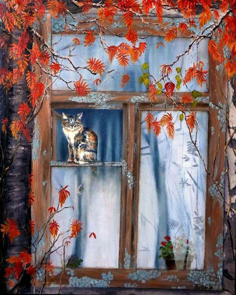 Native window by Natalia Goncharova