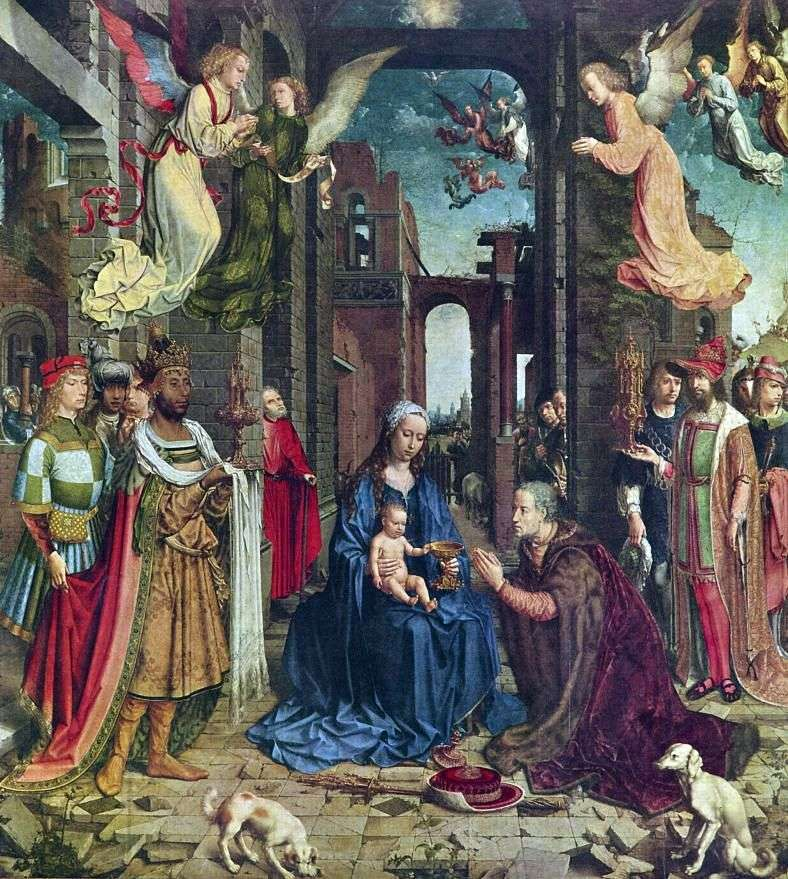 Adoration of the Magi by Jan Gossaert