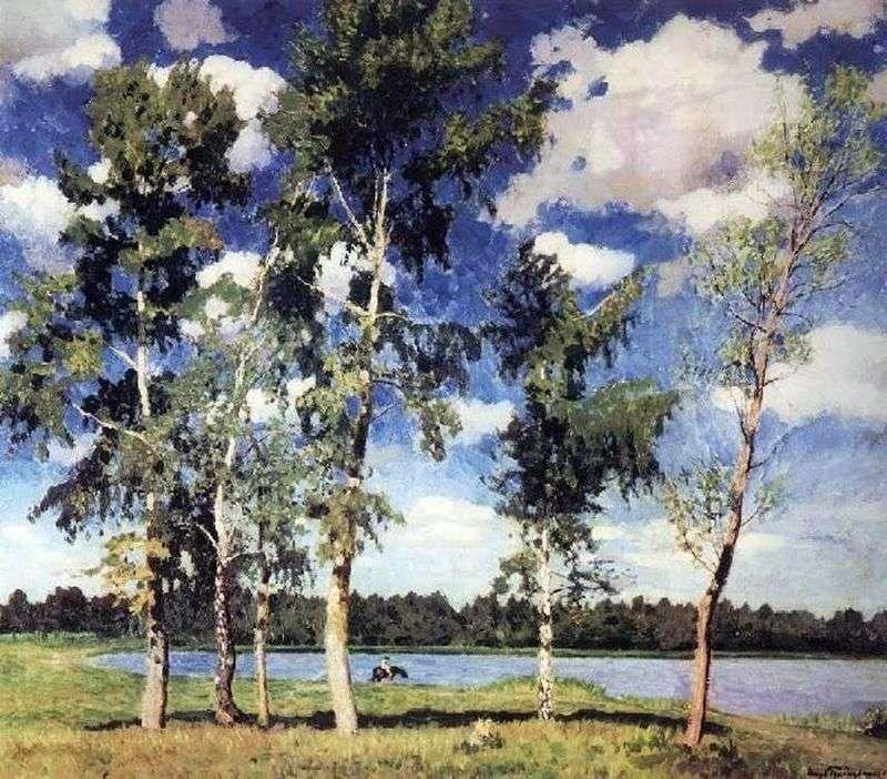 On the lake by Igor Grabar