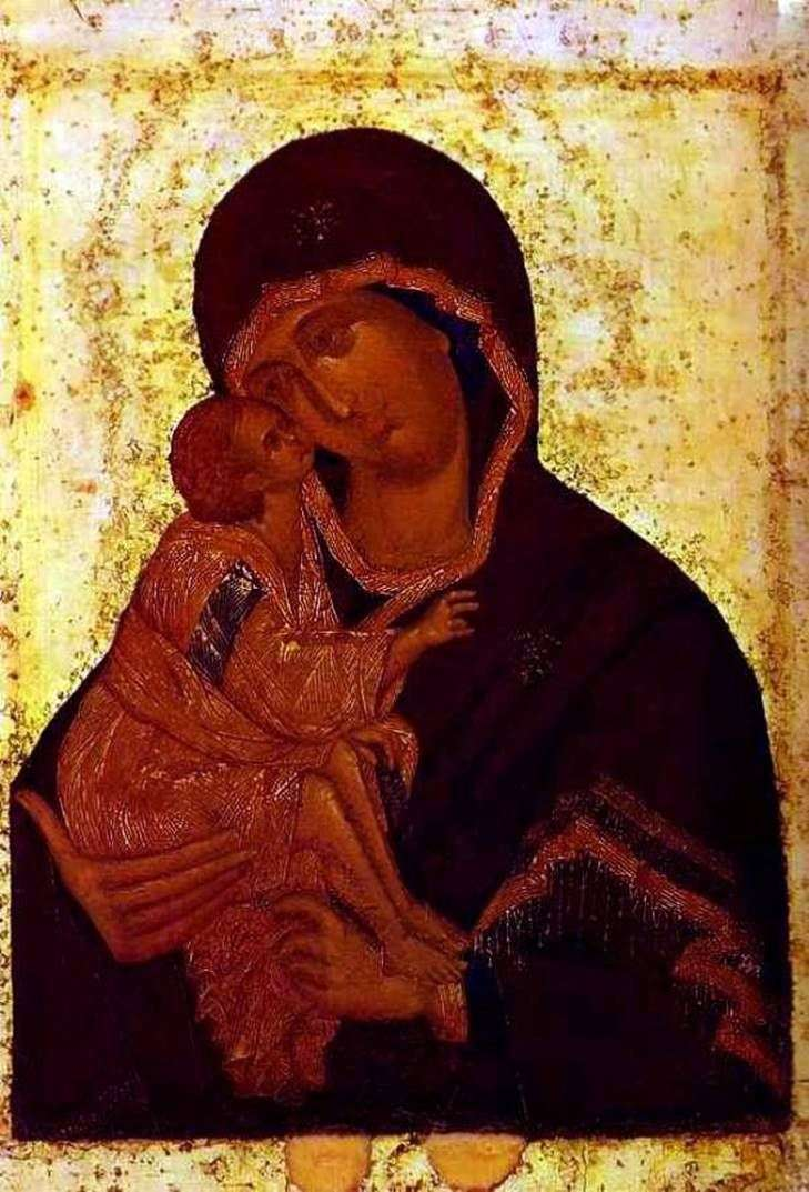 The Don Icon of the Mother of God by Theophanes the Greek